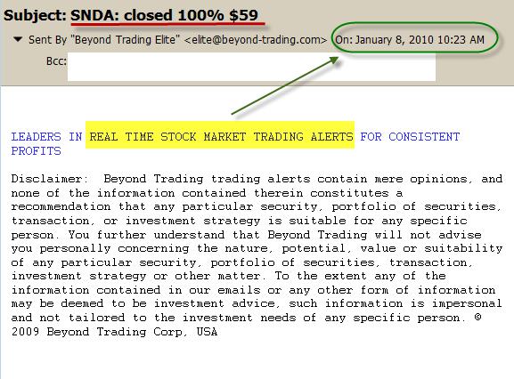1-08-2010 SNDA $59 exit